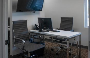 An office room at SmileBuilders, Inc. Cosmetic, Surgical and General Dentistry.